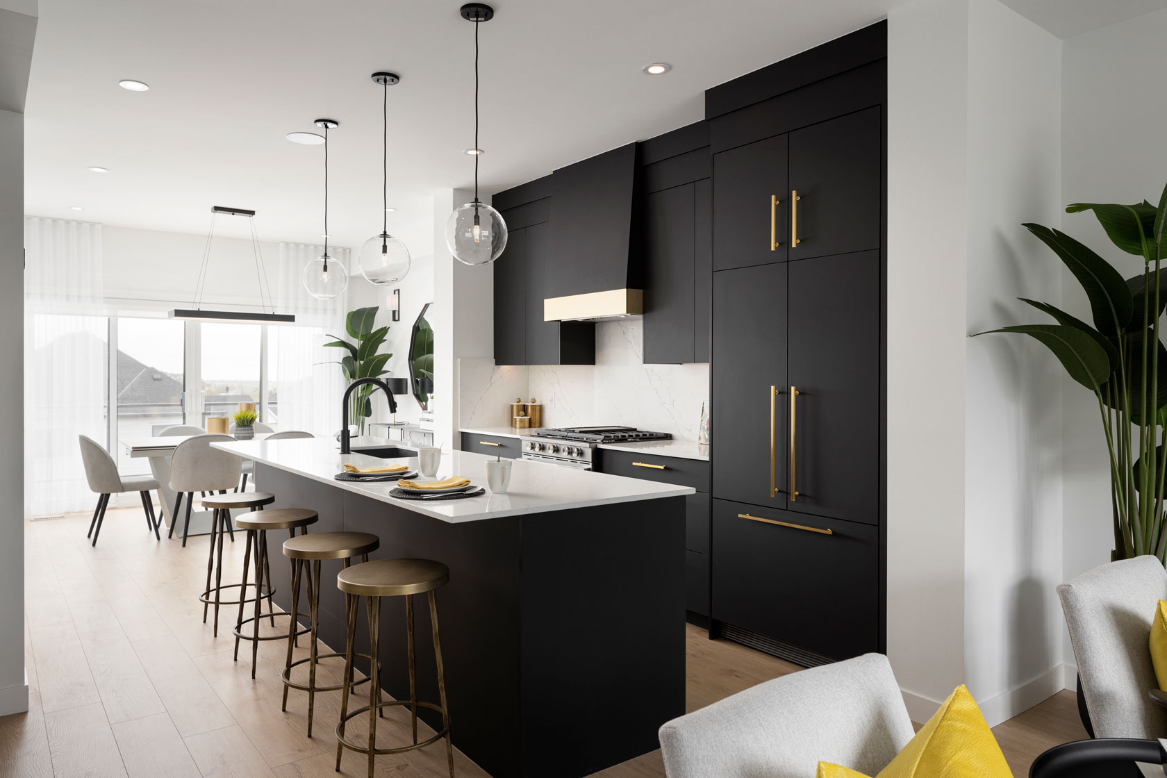 TRUMAN Homes - TImberline Street Towns Southwest Calgary Show Home