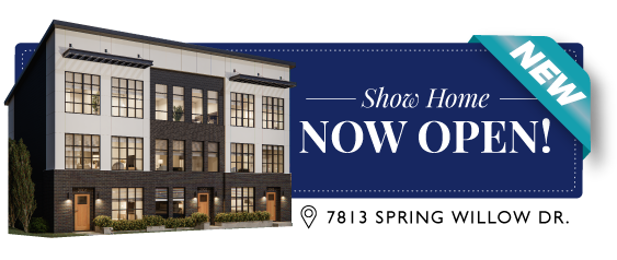 Truman Homes - Arcola Townhomes Show Home Now Open!