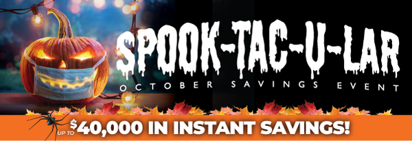 Truman's 2021 Spooktacular Savings Event