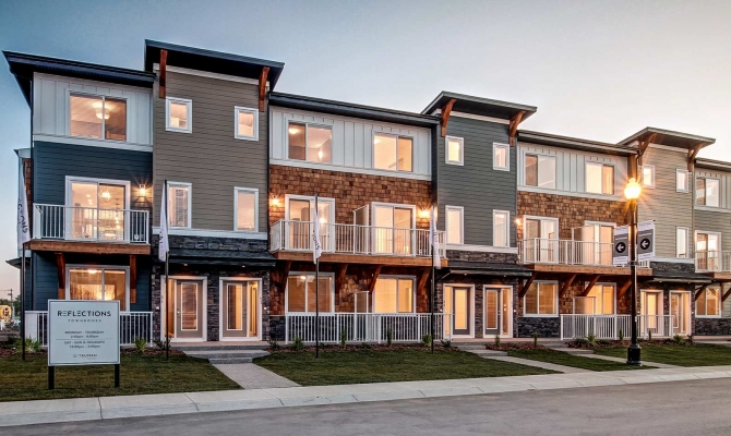 Townhome Exteriors